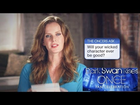 Once Upon A Time Oncers Ask Rebecca Mader two questions - Season 5 Fan Celebration Special