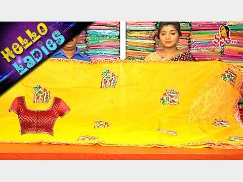 Mind Blowing Pure Crepe And Tussar Silk Sarees || Hello Ladies || Vanitha TV