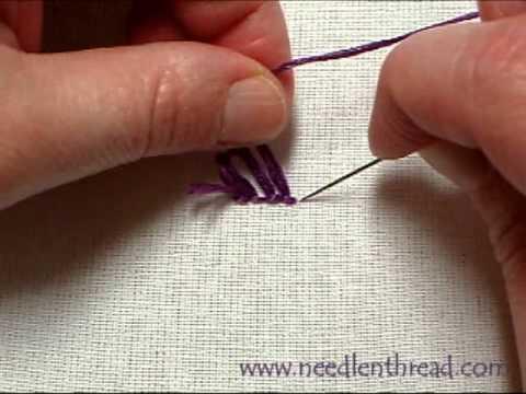 Turkey Work Hand Embroidery Stitch Youtube