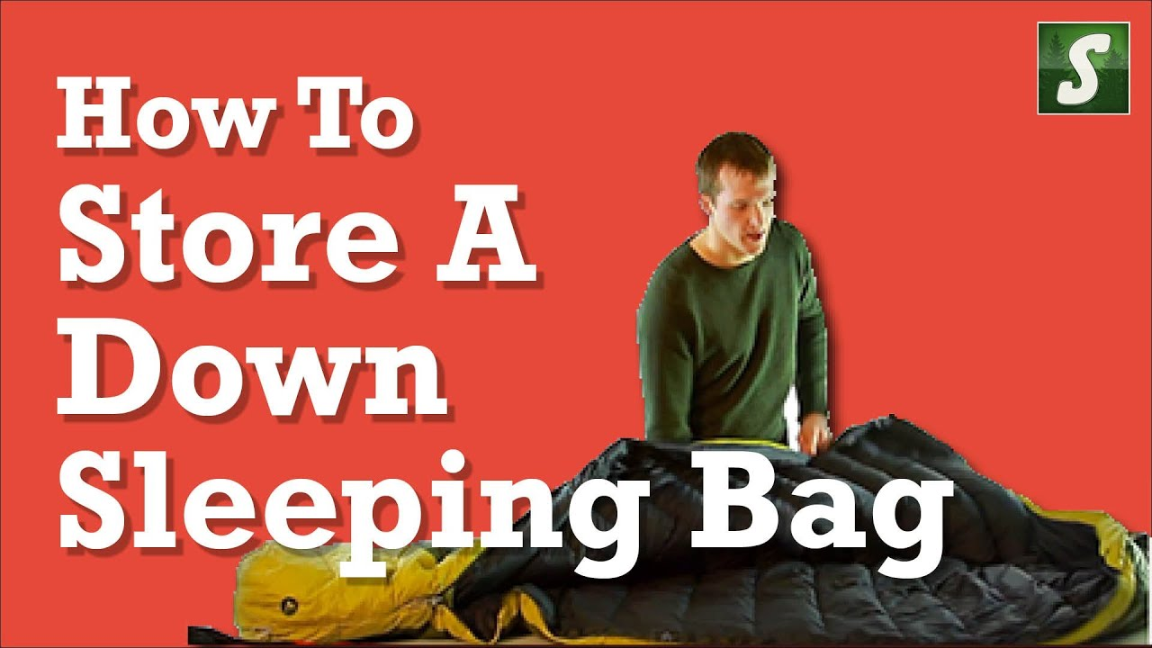 How To Store A Down Sleeping Bag