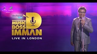 Music Boss D.Imman Live in London 2017 | Official Trailer