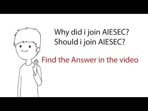 Why did I join AIESEC? Should you join AIESEC? | AIESEC life | Q and A |