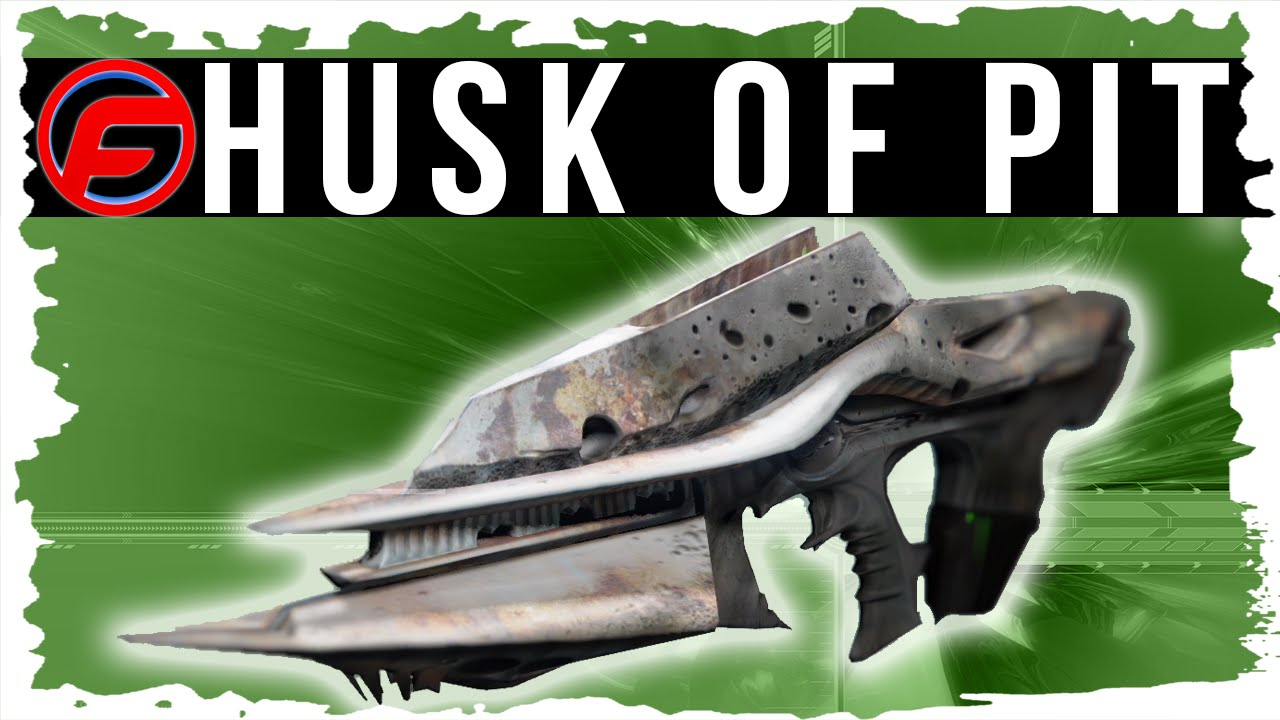 how to get husk of the pit
