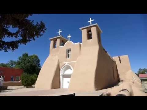 Taos, New Mexico - San Francisco de Asis Mission Church HD (2016)
