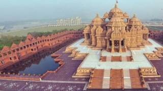 Akshardham Temple Delhi || Biggest Hindu Indian Temple || Bhakti Darshan Videos