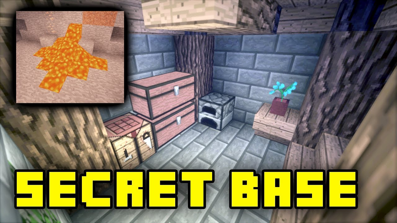 How To Make A Secret Room In Minecraft