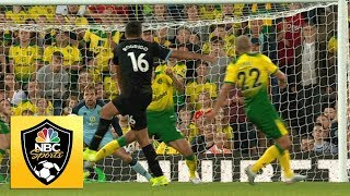 Rodrigo pulls Man City within one against Norwich City | Premier League | NBC Sports