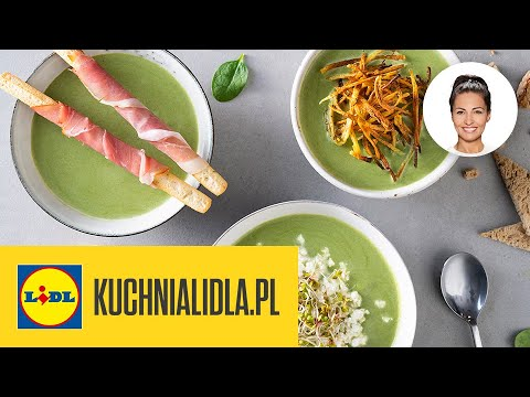 3 X Zupa Z Zielonych Szparagow Wegan Wege Z Miesem Kinga Paruzel Kuchnia Lidla Youtube
