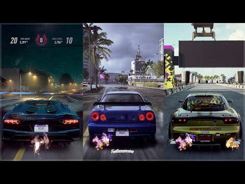 Need For Speed Heat | Aventador S, R34 GT-R & RX-7 4K Gameplay!