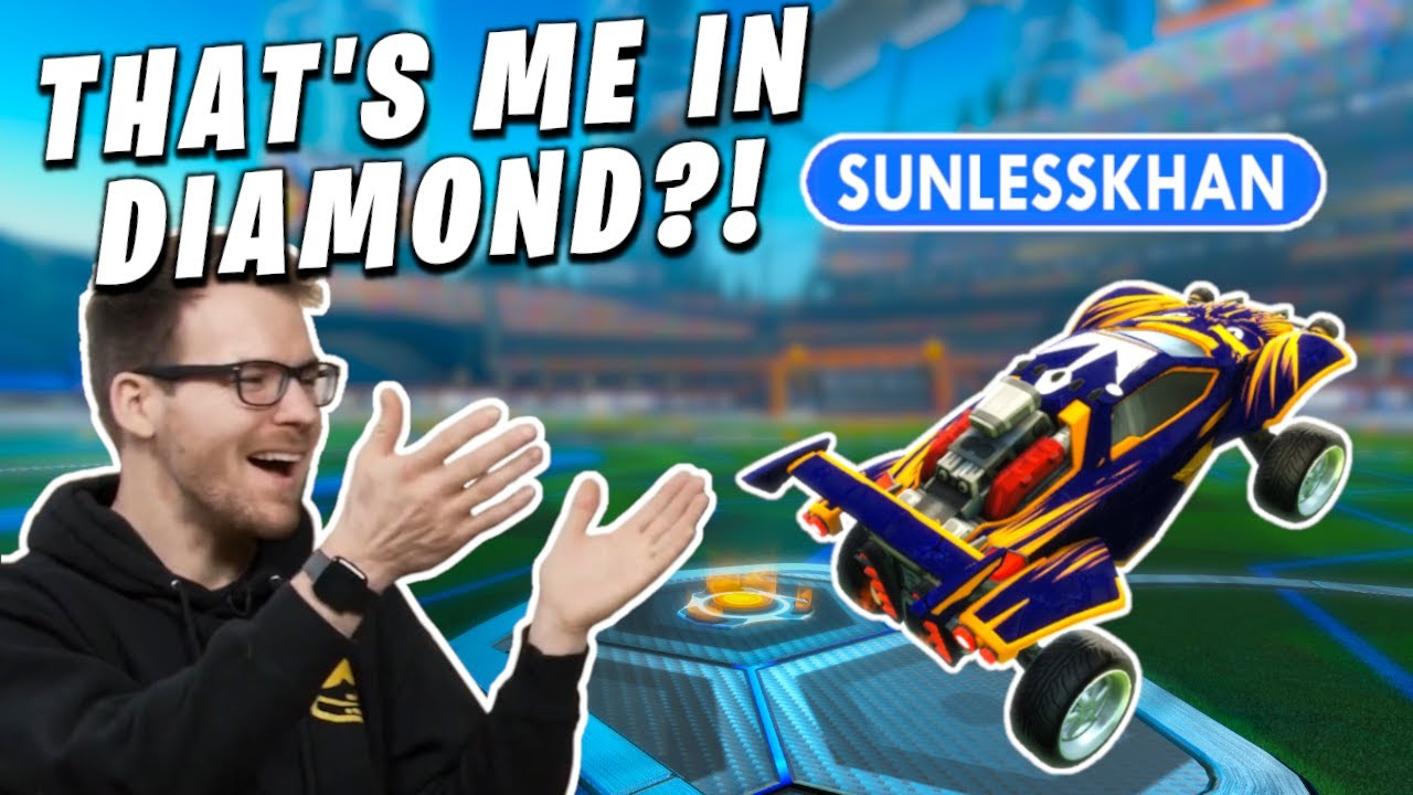 Youtubers try to guess THEIR OWN RANK in Rocket League