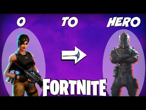 How I Went From 0 To Hero In Fortnite | Battle Royale Starter Tips