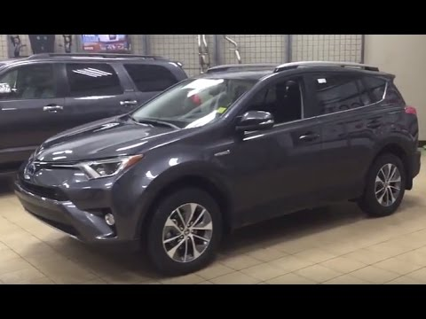 2017 Toyota Rav4 Xle Hybrid Review