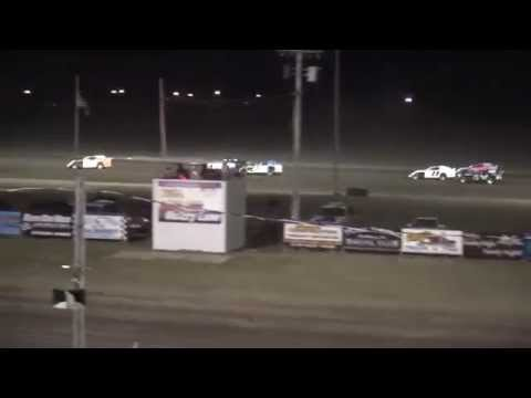 Benton County Speedway Frostbuster IMCA Northern Sport Mod feature 4/2/15