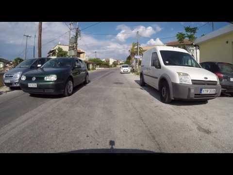 Agios Spyridon to Kalami by car