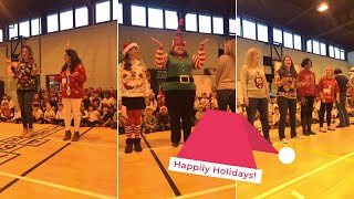 Teacher's Viral 12 Days of Christmas Song