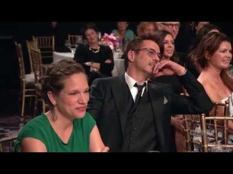 Jamie Foxx Invites Robert Downey Jr. to Daughter's Birthday - 2014 Britannia Awards on BBC America