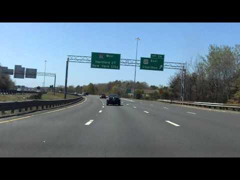 Interstate 84 - Massachusetts westbound