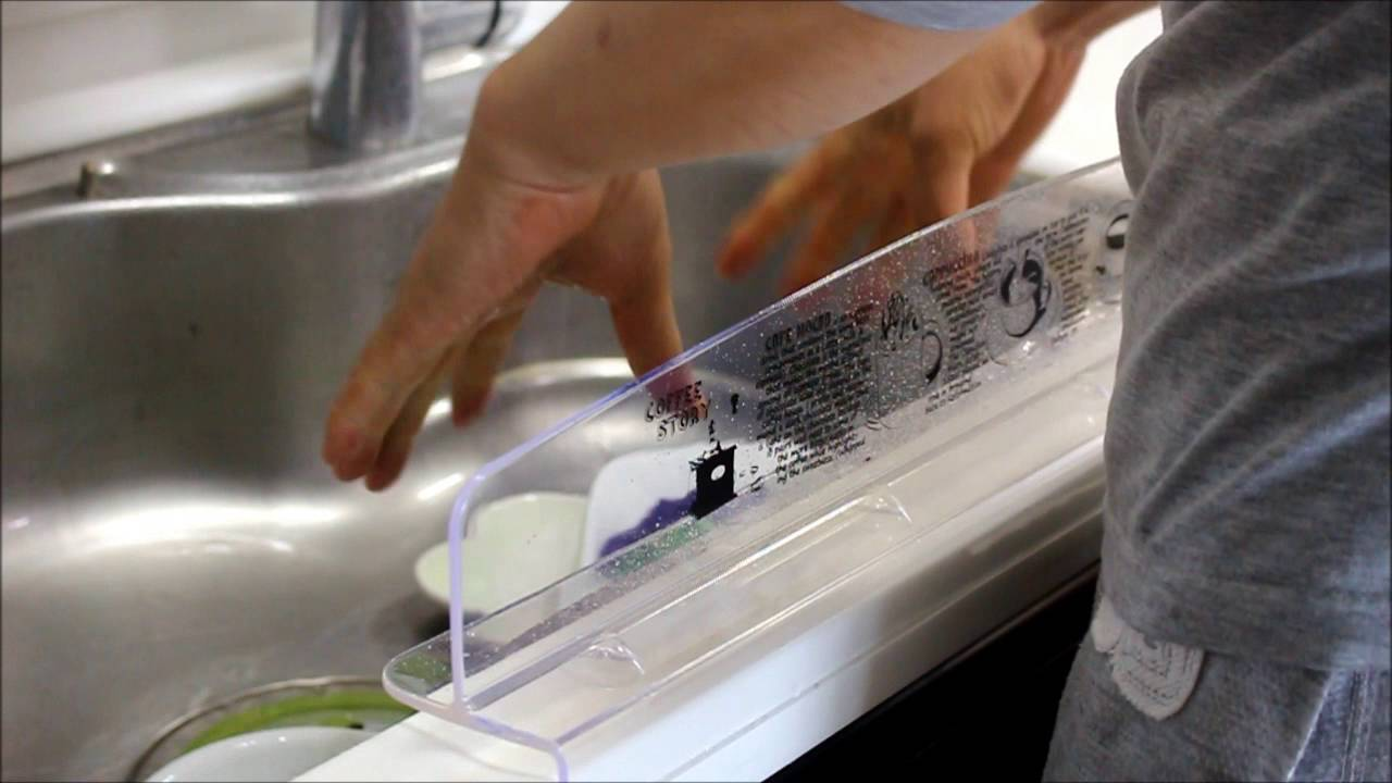 Innovative sink water splash guard made in korea youtube for Splash guard kitchen sink