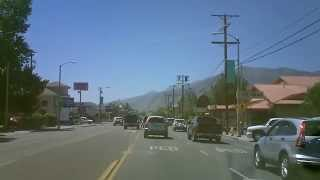 Cruise Down Main Street Bishop Calif.