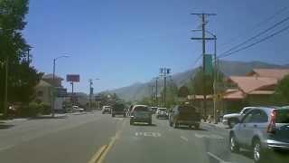 Cruise Down Main Street Bishop Calif.