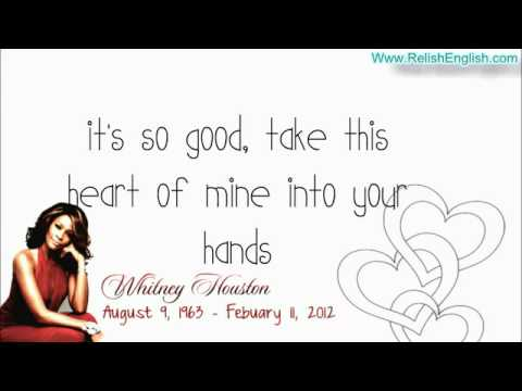 Whitney Houston   You Give Good Love   Lyrics   Www RelishEnglish com