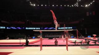 WILSON Nile (GBR) - 2015 Artistic Worlds - Qualifications Parallel Bars