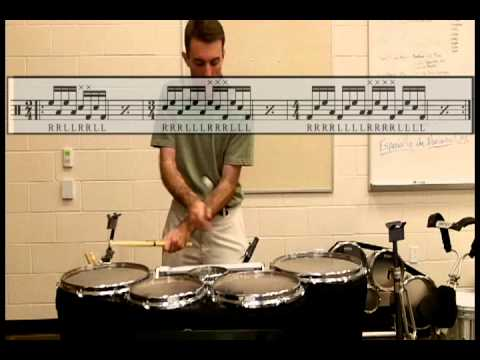 Tenor Drum Exercises from Hell #4