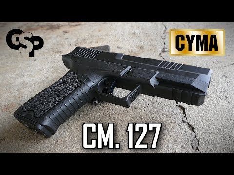 NEUE 75€ Glock AEP Airsoft Alternative CM.127 GsP Review
