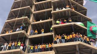 من قلب الحدث اليوم ببرج بوعريريج  الجمعة الثالثة عشر  للحراك الشعبي المبارك
