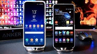 Huawei P10 Plus VS Samsung Galaxy S8 Plus - Speed Test