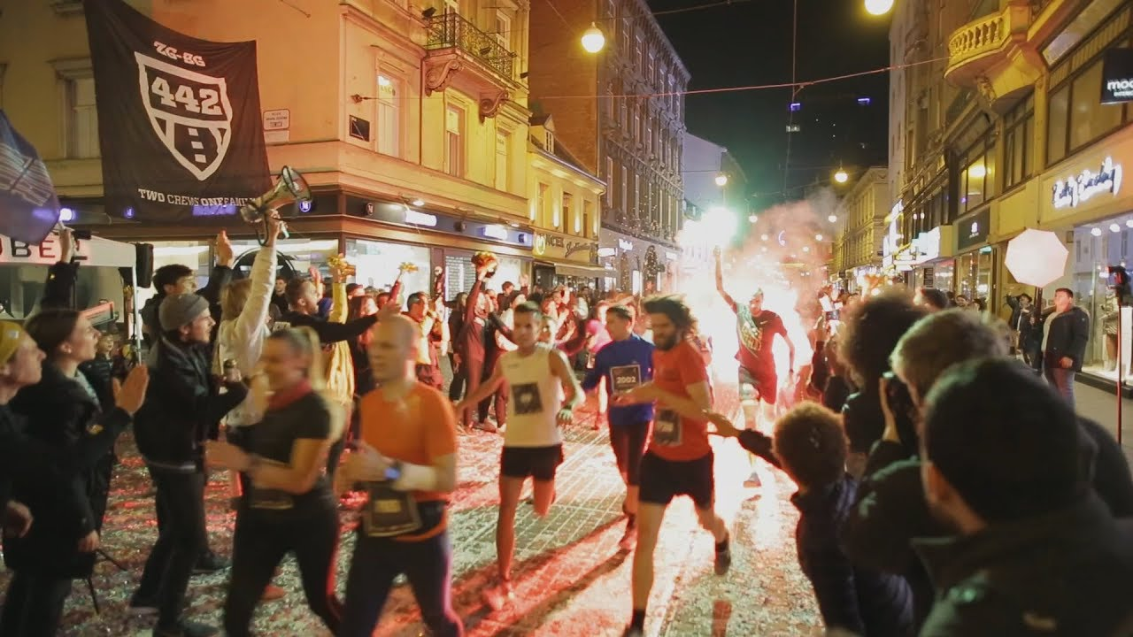 Night Run In Zagreb Croatia Zagrebacki Nocni Cener