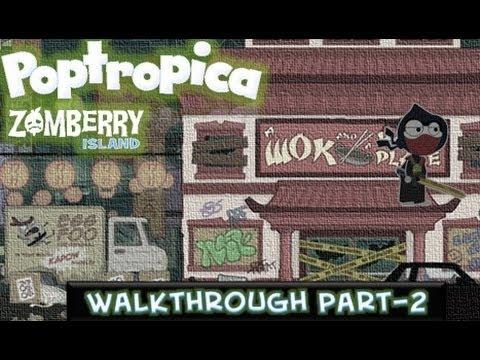 Poptropica Walkthrough Zombie Island on