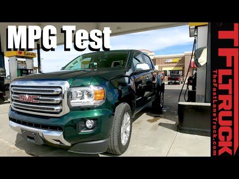 2016 gmc canyon duramax diesel mpg review and the most fuel efficient truck in the u s is. Black Bedroom Furniture Sets. Home Design Ideas