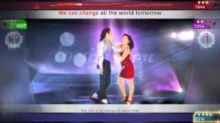 Michael Jackson The Experience - I Just Cant Stop Loving You, PS3 footage [EUROPE]