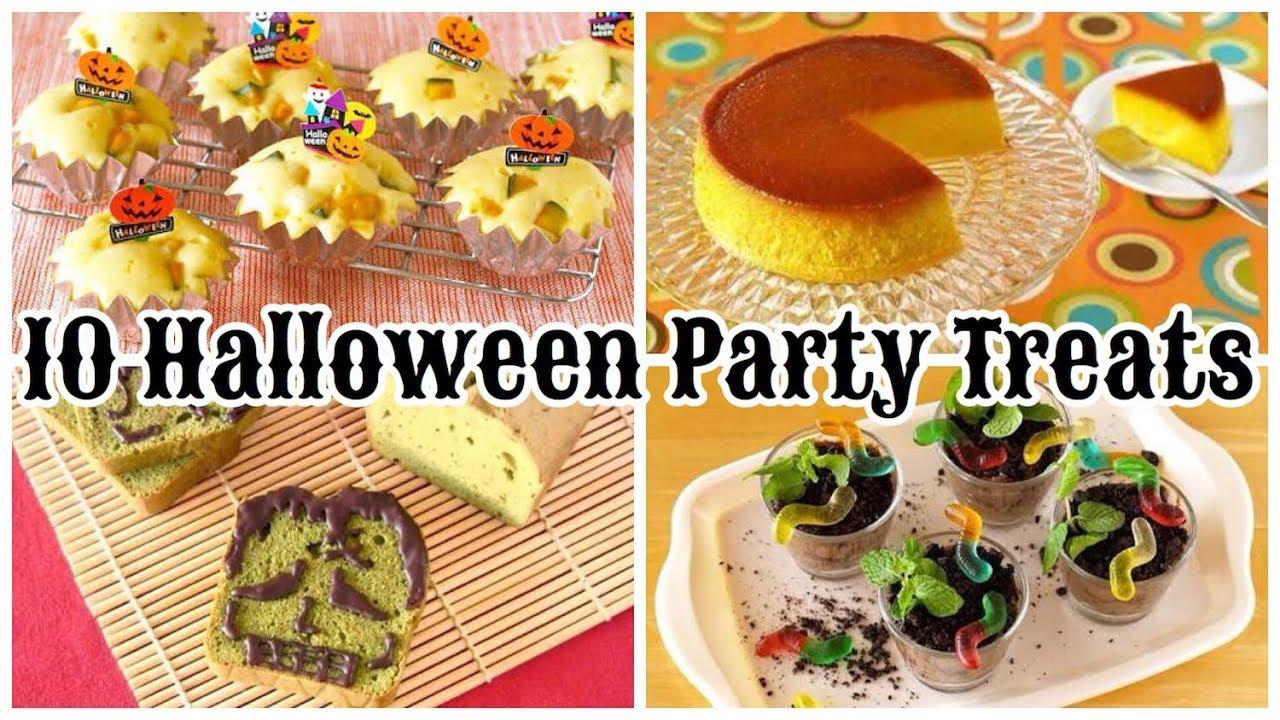 10 Best Halloween Party Treats (Cute, Fun, and Easy Recipes) | OCHIKERON | Create Eat Happy :)