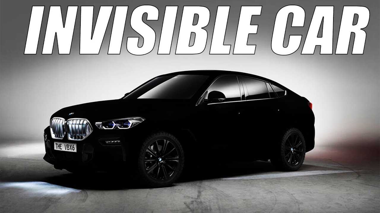 BMW Introduces The First Invisible Car: BMW Vantablack