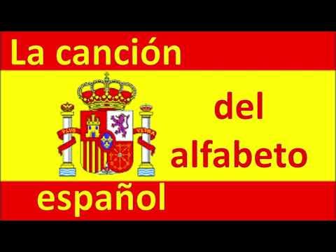 la canción del alfabeto español