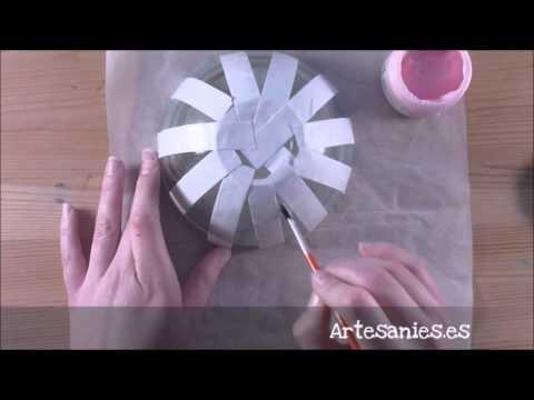 Bol decorado con grabado en vidrio youtube - Bol de vidrio ...