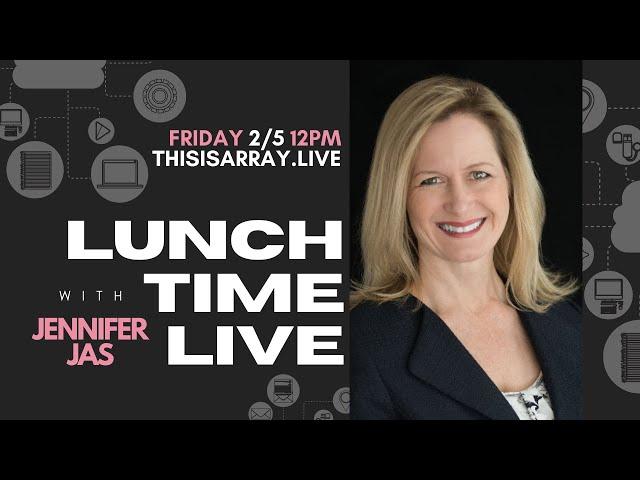 Jennifer Jas - Lunchtime Live