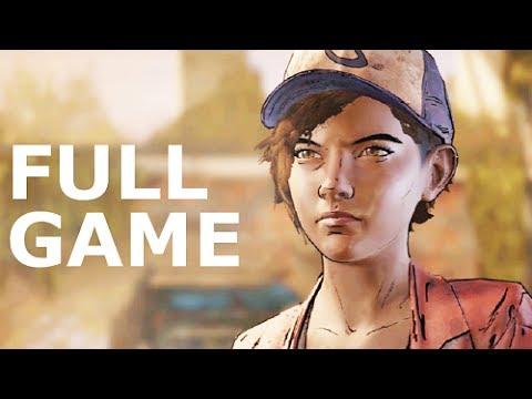 The Walking Dead Season 3 A New Frontier - Full Game & Ending (No Commentary) (All Cutscenes Movie)