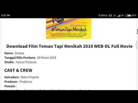 Download film Teman Tapi Menikah || 100% Full HD||buruan!!!