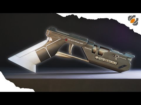 HOW TO: From 3D Model to Finished Prop - Tom Cruise's Oblivion Blaster!