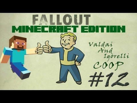 Смотреть прохождение игры [Coop] Minecraft Fallout Adventure. Серия 12 - Госпиталь..