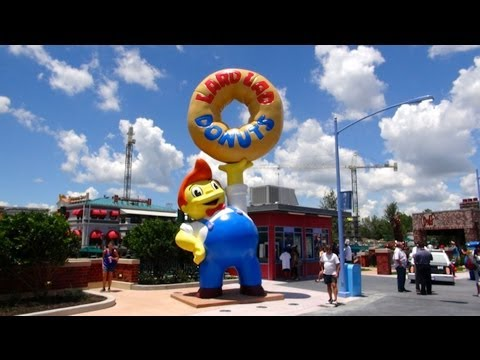 The Simpsons Springfield Area Opens At Universal Studios Florida Orlando