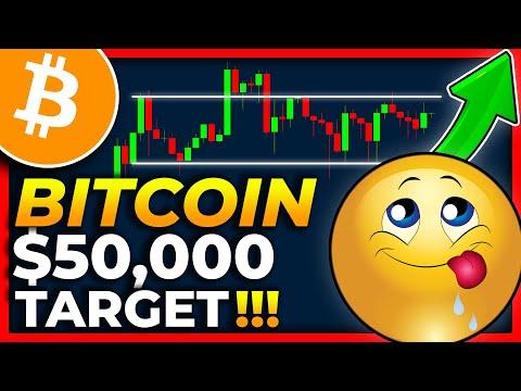 $50,000 PUMP TARGET on BITCOIN INCOMING??? BITCOIN Price Prediction 2021 // Bitcoin News Today