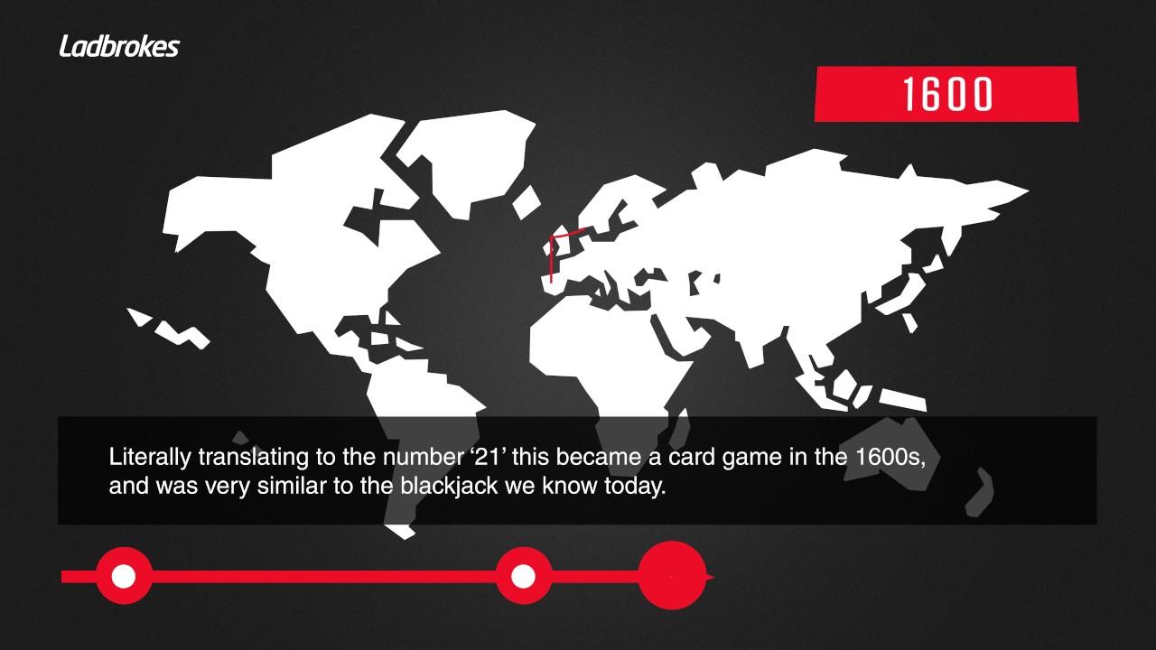 Blackjack history