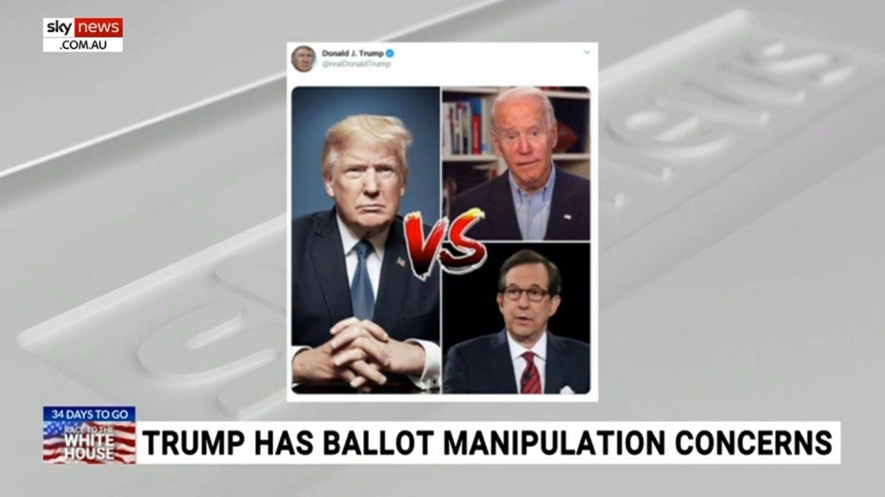 President Trump hits out at moderator Chris Wallace following debate