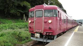 2020.10.19 - 413系普通列車831M(中津幡)