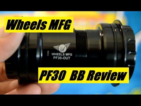 Wheels Mfg PF30 to SRAM Bottom Bracket with ABEC-3 Bearings