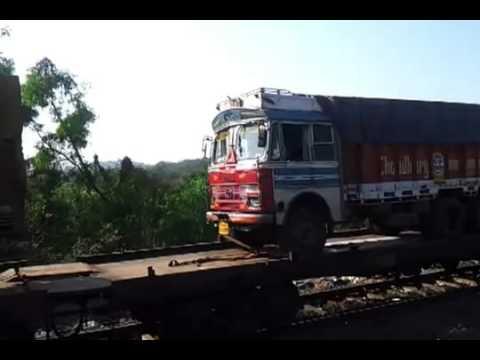 Железнодорожные перевозки автомобилей